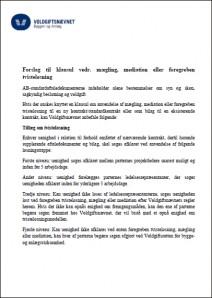 Forslag til klausul 2015.06.16