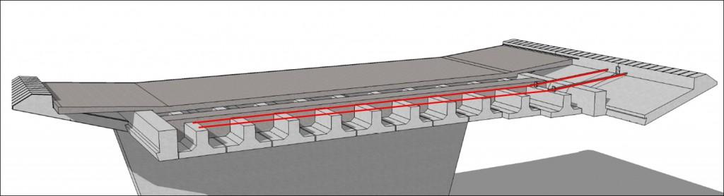 Spæncoms koncept for de præfabrikerede broelementer